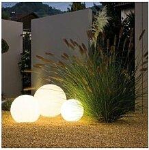 Kugelleuchte Kugellampe aussen garten Leuchtkugel