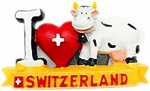 Kuh Schweiz 3D Kühlschrank Kühlschrankmagnet