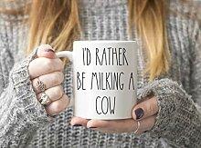 Kuh-Tasse, Geschenkidee für Milchbauer oder