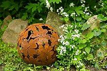 KUHEIGA Dekokugel, Rost Ø: 23cm, Blume