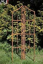 KUHEIGA Rankhilfe Metall Rost 3-TLG, Höhe: 188cm,