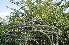 KUHEIGA Stabiler Gartenpavillon aus Metall,