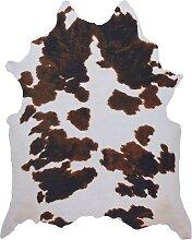 Kuhfell (synthetisch), braun (95/120 cm)