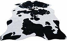 Kuhfell-Teppich, europäisches Tiermuster, für
