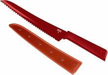 KUHN RIKON Colori+ Brotmesser gezackte Klinge mit