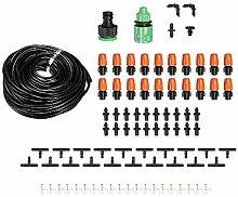 Kuingbhn Mikro-Tropfbewässerungssystem-Set, 30
