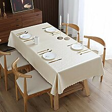 Kuingbhn Tischdecke Wasserdicht Tafeltuch