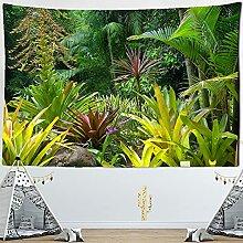 KUKUALE Tropischer Regenwald Tapisserie Wandbehang