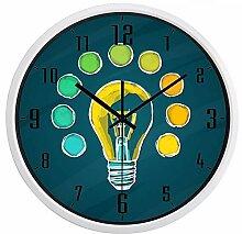 Kuletieas Glühbirne Idea Design Wanduhr-14inch