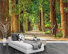 Kundenspezifische Fototapete Naturlandschaft Wald