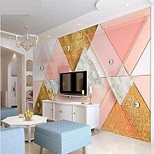 kundenspezifische moderne geometrische Tapete 3d