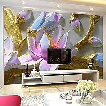 Kundenspezifische Orchidee Der Fototapete 3D