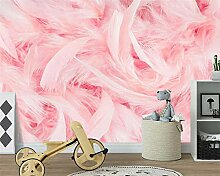 Kundenspezifische schöne rosa Flamingofeder