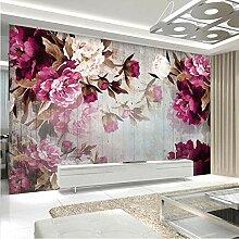 Kundenspezifische Tapete der Wand-3D romantische