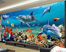 Kundenspezifische Tapete des Wandgemäldes 3D für