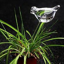 Kungfu Mall Glasvogel Automatische Drip Bewässerung Topfpflanzen Bewässerungssteuerung
