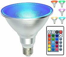 kuniwa PAR38Flutlicht Leuchtmittel RGB