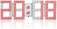 Kunliyin YY1 Digital Wanduhr modernes Design mit