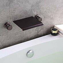 kunmai Wasserfall Wand montiert Orb Badewanne