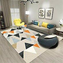 Kunsen Teppich Für Balkon grau Wohnzimmer Teppich