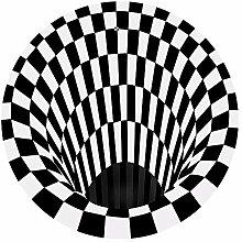 Kunsen Teppich Für Balkon Schwarz Salon Teppich