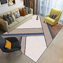 Kunsen Teppich für terrasse Wohnzimmer braunen