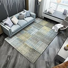 Kunsen Teppich für Wohnzimmer Rechteckiger