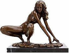 Kunst & Ambiente - Erotik Skulptur - Hockende