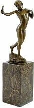 Kunst & Ambiente - Kleine Akt Bronzefigur - Junge