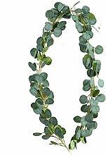 Kunst efeu fake pflanzen eukalyptus girlande für