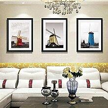 Kunst-Leinwand, modern, dekorativ, einfache