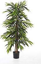 Kunst Longifolia-Baum AKUMO, 950 Blätter, grün, DELUXE, schwer entflammbar, 210 cm - Künstliche Pflanze / Deko Baum - artplants