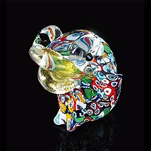 Kunst-Murano Frosch aus Muranoglas, Glas,