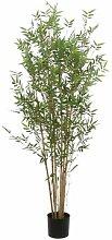 Kunstbaum Bambus im Topf