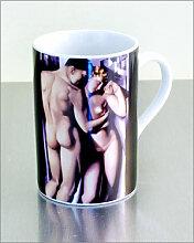Kunstbecher ADAM & EVE