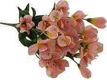 Kunstblume Alstromeria Blumengesteck Die