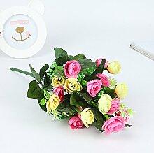 Kunstblume aus Kunststoff Blume Kamelie Emulation Fotografie Kunst Lieferungen Zubehör White+L'encre