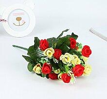 Kunstblume aus Kunststoff Blume Kamelie Emulation Fotografie Kunst Lieferungen Zubehör White+Conçu par Dhypharm Inc.