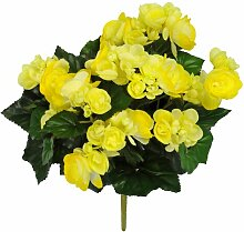 Kunstblume Begonien Blumengesteck Die Saisontruhe