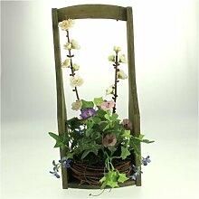 Kunstblume Blumengesteck im Korb Die Saisontruhe