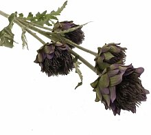 Kunstblume Cardoon Thistle Blumengesteck (Set of