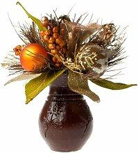 Kunstblume Gemischt Blumengesteck in Vase Die