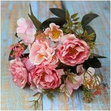 Kunstblume Künstliche Rosen Blumenstrauß