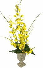 Kunstblume Orchidee in Vase Die Saisontruhe