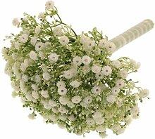 Kunstblume Schleierkraut Blumengesteck Die