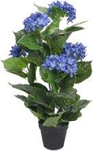Kunstblume vidaXL Künstliche Pflanze mit Topf