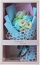 Kunstblumen Dekor Seife Rosen Blumenstrauß Mit