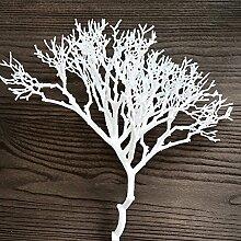 Kunstblumen YitingBouquet, Dekoration, Hochzeit Kunststoff, weiß