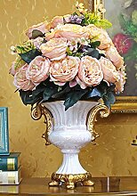 Kunstblumen Yiting Im europäischen Stil simulation Dekorative fake Blumen home Zubehör, Viole