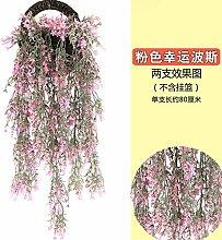 Kunstblumen Yiting Kunststoff simulation Pflanze Dekoration 75 cm ohne Blumenkorb, D